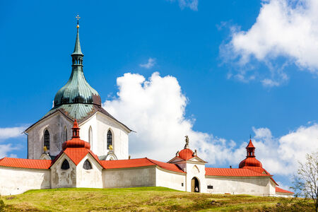 nad: Zelena Hora near Zdar nad Sazavou, Czech Republic