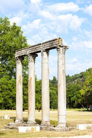 Roman temple: Templo Romano, Riez, Provenza-Alpes-Costa Azul, Francia