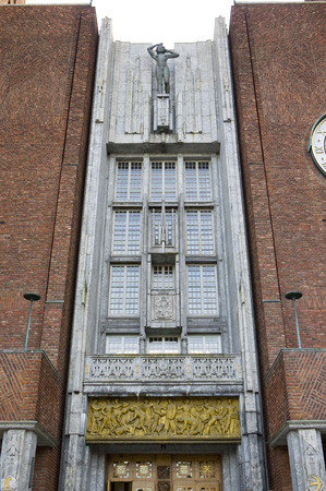 guildhalls: City Hall (Radhuset), Oslo, Norway