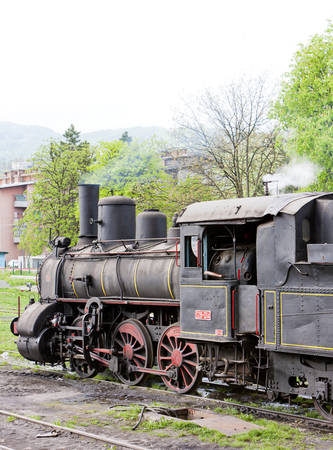 steam locomotive: steam locomotive (126.014), Resavica, Serbia