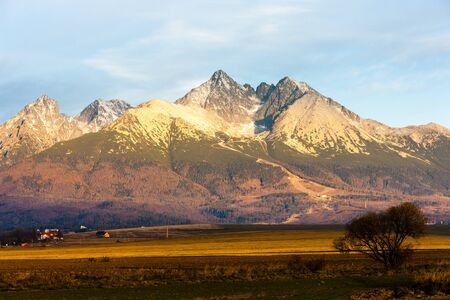 tatry: surroundings of Lomnicky Peak, Vysoke Tatry (High Tatras), Slovakia