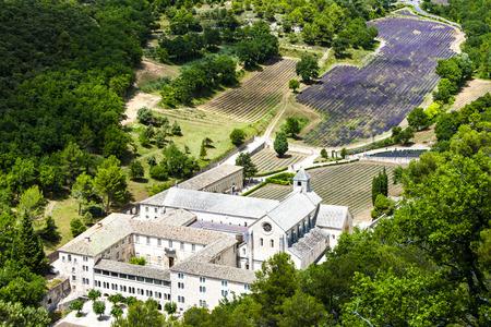 senanque: Senanque abbey, Provence, France Editorial
