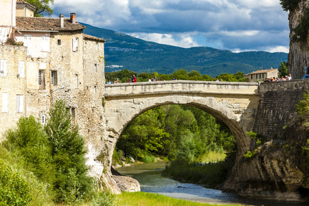 provence: Vaison-la-Romaine, Provence, France Stock Photo