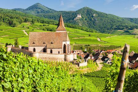 Hunawihr, Elsass, Frankreich Standard-Bild - 37173370