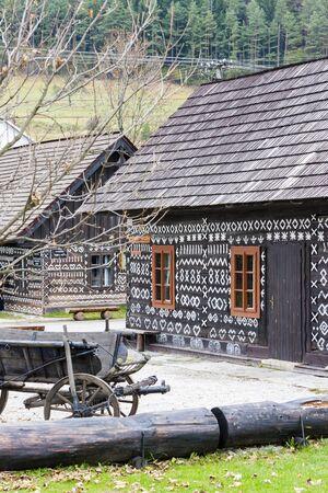 slovakia: Cicmany, Slovakia Stock Photo