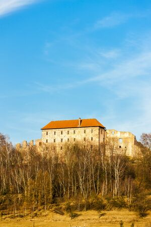 czech republic: Pecka Castle, Czech Republic Editorial