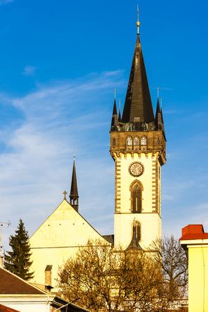 nad':  Church of Saint John the Baptist, Dvur Kralove nad Labem, Czech Republic