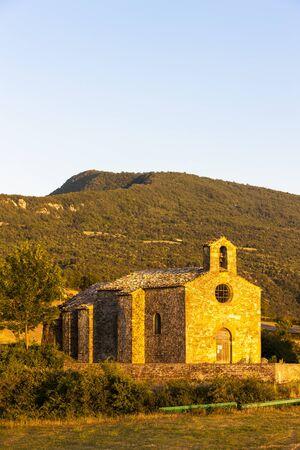 alpes: Chapel St. Jean de Crupies, Rhone-Alpes, France