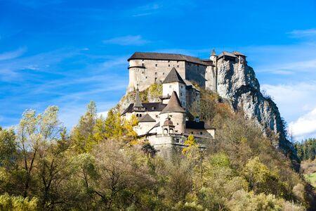 slovakia: Oravsky Castle, Slovakia Editorial