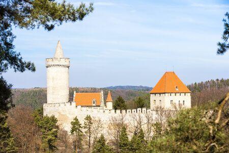 czech republic: Kokorin Castle, Czech Republic Editorial