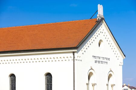 synagogue: synagogue, Hermanuv Mestec, Czech Republic