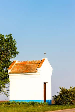 stary: chapel near Stary Poddvorov, Czech Republic