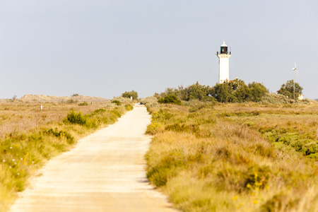camargue: Gacholle lighthouse, Parc Regional de Camargue, Provence, France