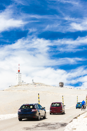 france station: weather station on summit of Mont Ventoux, Provence, France