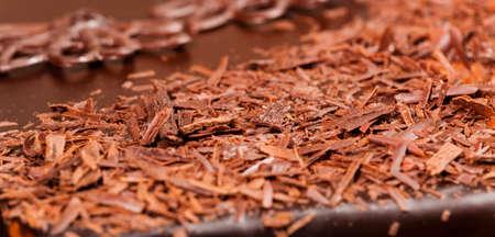 tempt: close up of chocolate cake
