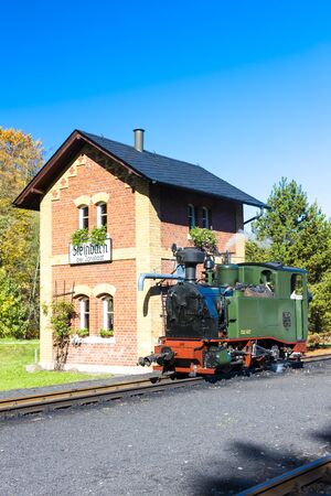 steam locomotive: steam locomotive, Steinbach, Germany
