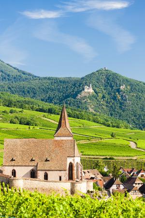 alsace: Hunawihr, Alsace, France