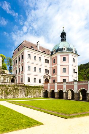 nad: palace Becov nad Teplou, Czech Republic Editorial