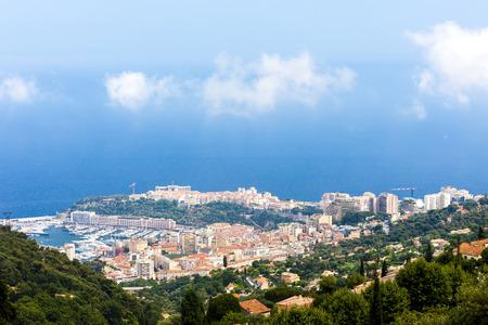 alpes maritimes: view of Prinicipality of Monaco