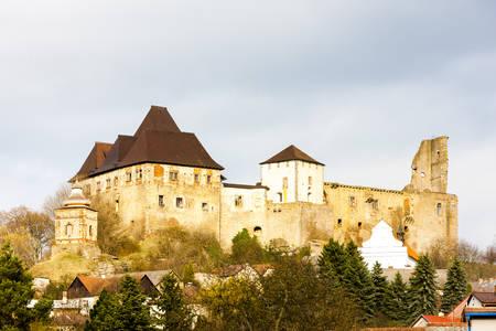 nad': Lipnice nad Sazavou Castle, Czech Republic Editorial