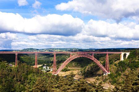cantal: Garabit Viaduct, Cantal Department, Auvergne, France