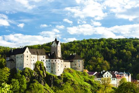czech republic: Loket Castle, Czech Republic Editorial