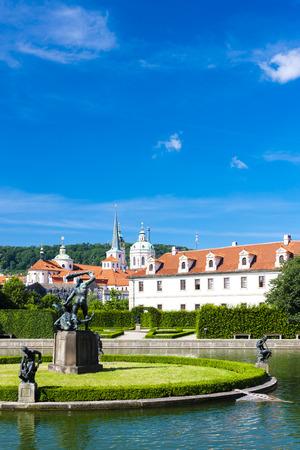 czech republic: Valdstejnska Garden, Prague, Czech Republic