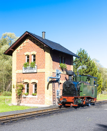 narrowgauge: steam locomotive, Steinbach, Germany