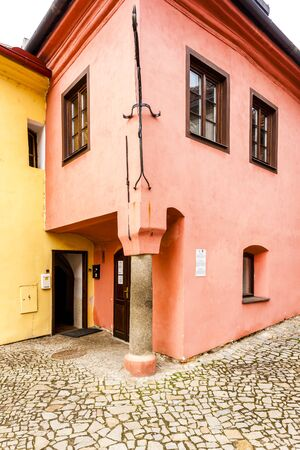 jewish houses: Jewish Quarter, Trebic, Czech Republic