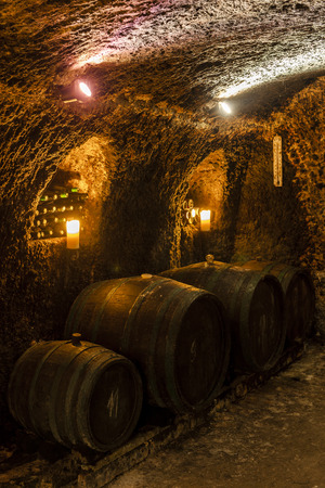 Velka Trna、トカイのワイン地域、スロバキアのワインセラー