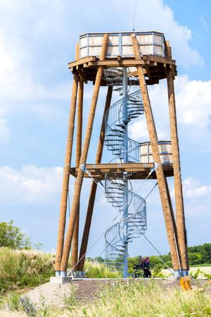 czech republic: lookout tower, Drnholec, Czech Republic