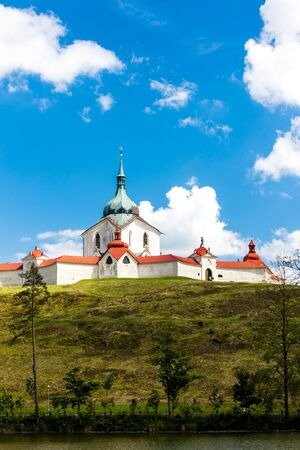 nad': Zelena Hora near Zdar nad Sazavou, Czech Republic