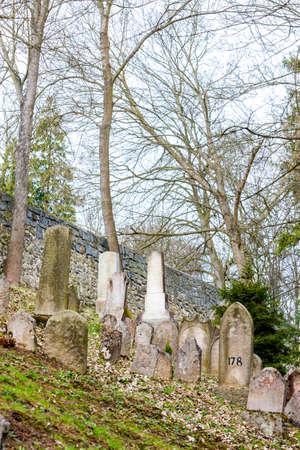 jewish: Jewish Cemetery, Trebic, Czech Republic