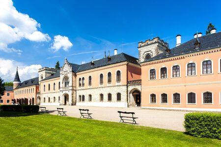 czech republic: Palace Sychrov, Czech Republic