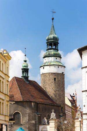 gora: tower of Vojanovska gate, Jelenia Gora, Silesia, Poland
