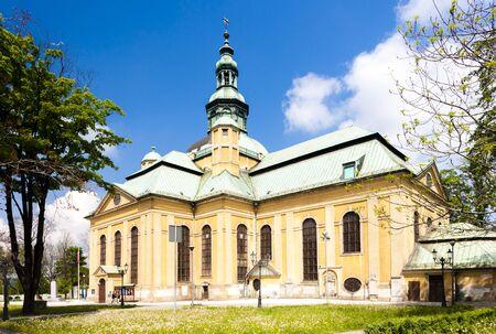 gora: The Church of the exaltation of the Holy Cross, Jelenia Gora, Silesia, Poland