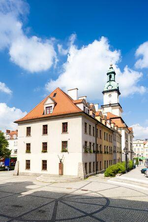 gora: town hall of Jelenia Gora, Silesia, Poland