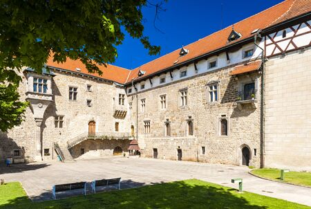 nad: Budyne nad Ohri Palace, Czech Republic Editorial