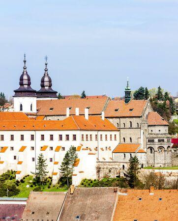 trebic: St. Procopius Basilica, Trebic, Czech Republic
