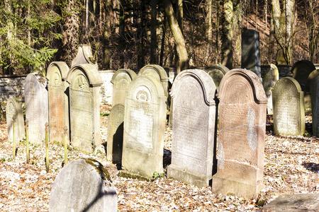 jewish: Jewish cemetery, Luze, Czech Republic