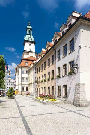 gora: town hall of Jelenia Gora, Plac Ratuszowy, Silesia, Poland
