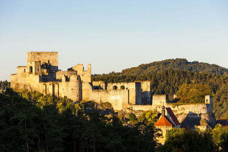 rabi: ruins of Rabi Castle, Czech Republic