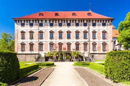 czech republic: Libochovice Palace, Czech Republic Editorial