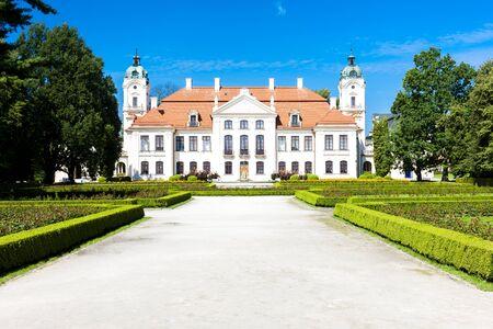 lublin: Kozlowski Palace, Lublin Voivodeship, Poland Editorial