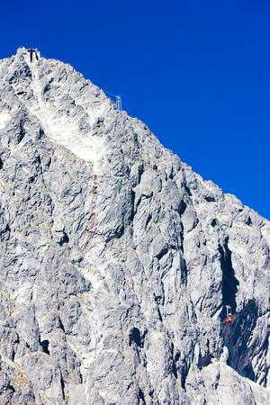 tatry: cable car to Lomnicky Peak, Vysoke Tatry (High Tatras), Slovakia