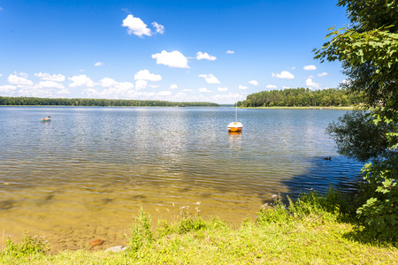 the silence of the world: Dluzek lake, Warmian-Masurian Voivodeship, Poland