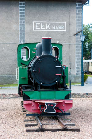 narrowgauge: narrow gauge railway, Elk, Warmian-Masurian Voivodeship, Poland