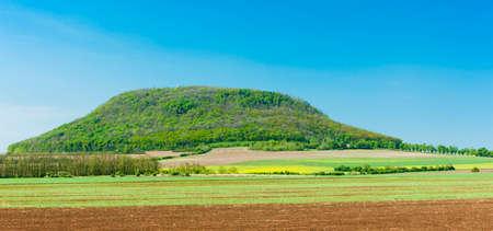 ceske: Rip, Ceske stredohori, Czech Republic Stock Photo