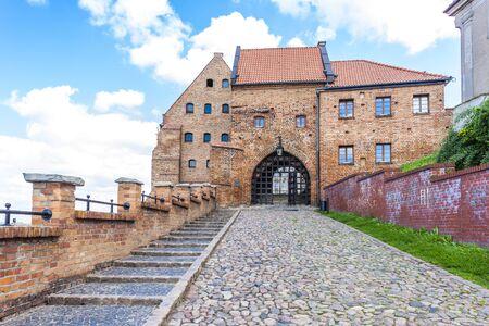granary: medieval granary, Grudziadz, Kuyavia-Pomerania, Poland