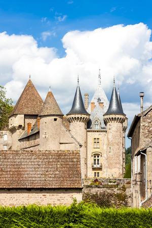 chateau: Chateau de la Clayette, Burgundy, France